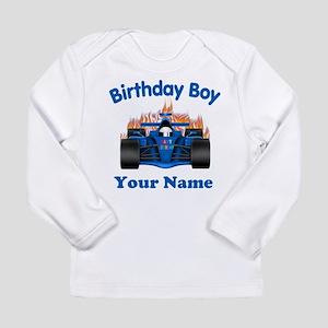 Birthday Boy Car Long Sleeve Infant T-Shirt