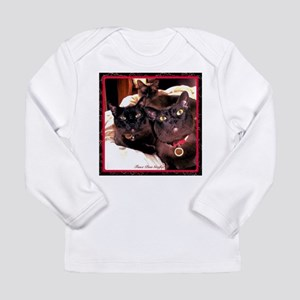 Three Cats Long Sleeve Infant T-Shirt