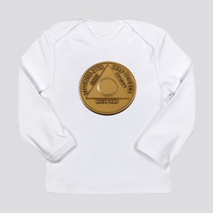 Alcoholics Anonymous Anniversary Chip Long Sleeve