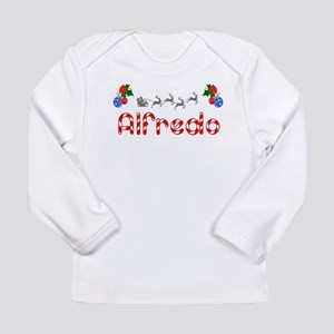 Alfredo, Christmas Long Sleeve Infant T-Shirt