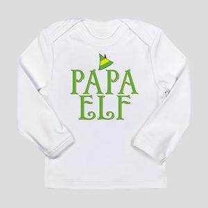 Papa Elf Long Sleeve Infant T-Shirt