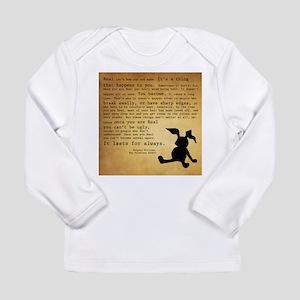 Velveteen Rabbit Print Long Sleeve Infant T-Shirt
