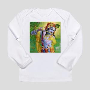 I Love you Krishna. Long Sleeve Infant T-Shirt