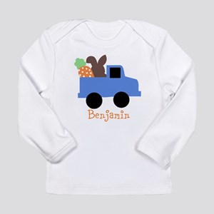 Easter time truck personalized Long Sleeve T-Shirt