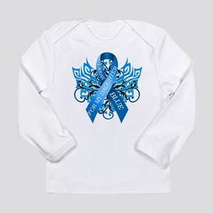 I Wear Blue for my Daughter Long Sleeve T-Shirt