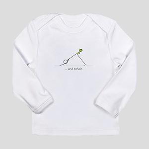 Yoga Exhale Long Sleeve Infant T-Shirt