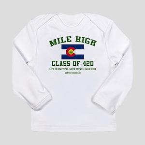Mile High class of 420 Long Sleeve T-Shirt