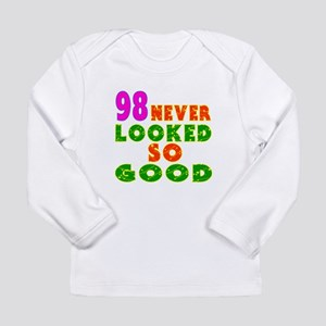 98 Birthday Designs Long Sleeve Infant T-Shirt