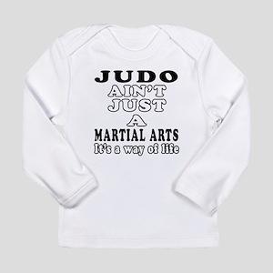 Judo Martial Arts Designs Long Sleeve Infant T-Shi