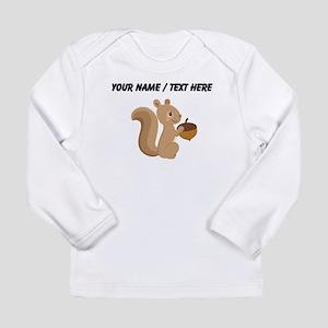 Custom Cartoon Squirrel Long Sleeve T-Shirt