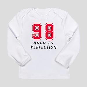 98 Year birthday designs Long Sleeve Infant T-Shir