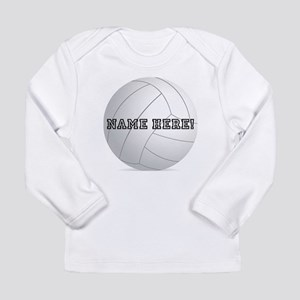 Personalized Volleyball Player Long Sleeve Infant