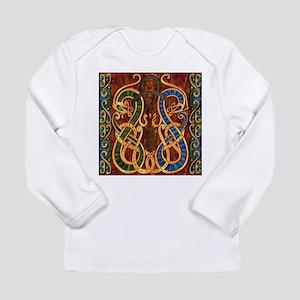 Harvest Moons Viking Dragons Long Sleeve T-Shirt