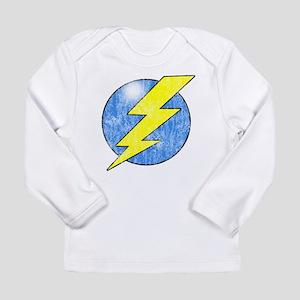 Vintage Sheldon Lightning Bolt 2b Long Sleeve T-Sh