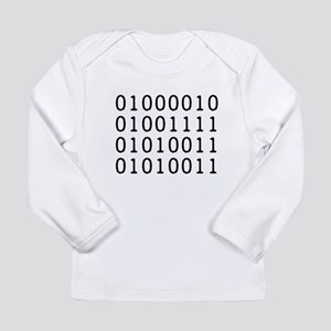BOSS in Binary Code Long Sleeve T-Shirt