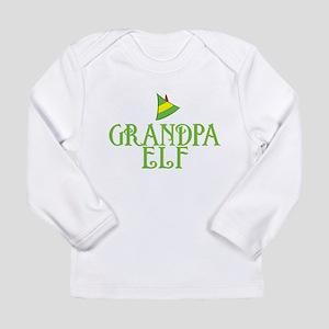Grandpa Elf Long Sleeve Infant T-Shirt