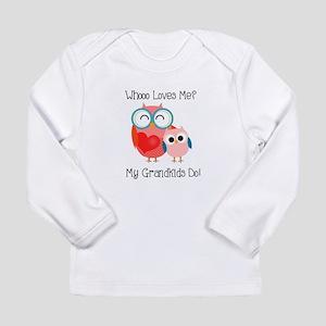 Owl Grandkids Long Sleeve Infant T-Shirt