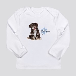 Havanese Puppy Long Sleeve Infant T-Shirt