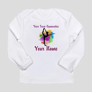 Customizable Gymnastics Team Long Sleeve T-Shirt