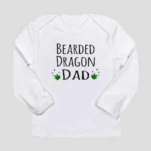 Bearded Dragon Dad Long Sleeve T-Shirt