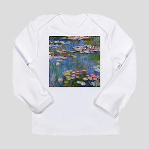 Monet Water lilies Long Sleeve T-Shirt