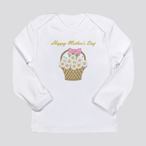 Happy Mother's Day (white daisies) Long Sleeve Inf
