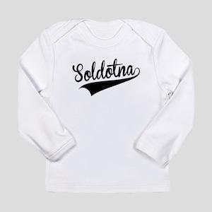 Soldotna, Retro, Long Sleeve T-Shirt