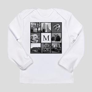 Monogrammed Photo Block Long Sleeve T-Shirt