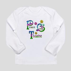 Peace Love Theatre Long Sleeve Infant T-Shirt