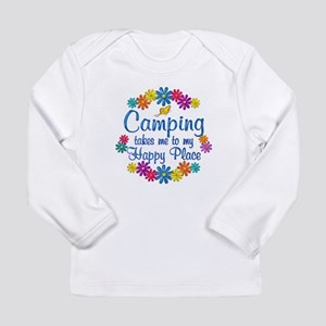 Camping Happy Place Long Sleeve Infant T-Shirt