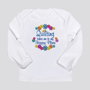 Quilting Happy Place Long Sleeve Infant T-Shirt