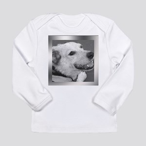 Your Photo in a Silver Frame Long Sleeve T-Shirt