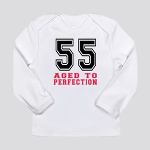 55 Aged To Perfection B Long Sleeve Infant T-Shirt