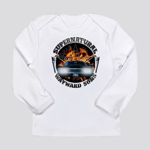 Supernatural Wayward Sons silver Long Sleeve T-Shi