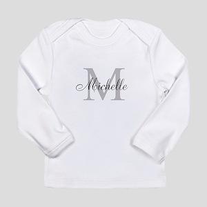Personalized Monogram Name Long Sleeve T-Shirt