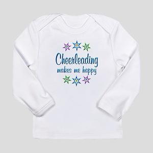 Cheerleading Happy Long Sleeve Infant T-Shirt