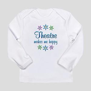 Theatre Happy Long Sleeve Infant T-Shirt