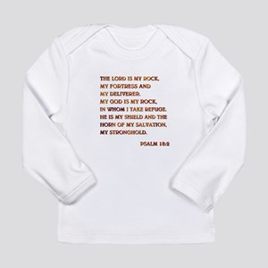 PSALM 18:2 Long Sleeve Infant T-Shirt