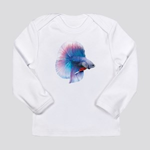 Double Tail Betta Long Sleeve T-Shirt