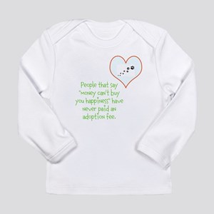 adoption happiness Long Sleeve T-Shirt