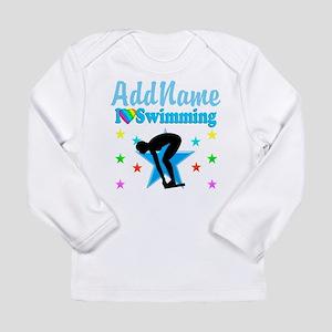 SWIM TEAM Long Sleeve Infant T-Shirt