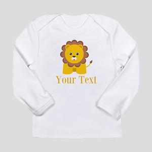 Personalizable Little Lion Long Sleeve T-Shirt