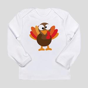 Funny Turkey Long Sleeve Infant T-Shirt