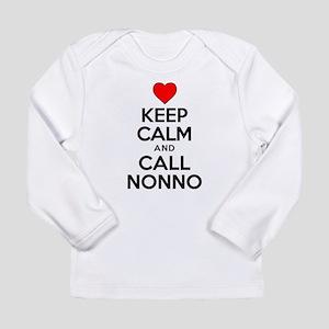 Keep Calm Call Nonno Long Sleeve T-Shirt