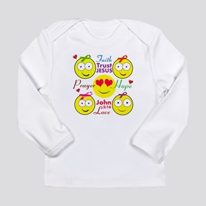 Faith Long Sleeve Infant T-Shirt