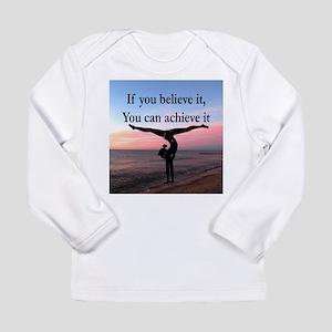 GYMNAST INSPIRATION Long Sleeve Infant T-Shirt