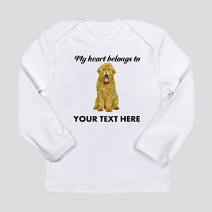 Personalized Goldendood Long Sleeve Infant T-Shirt