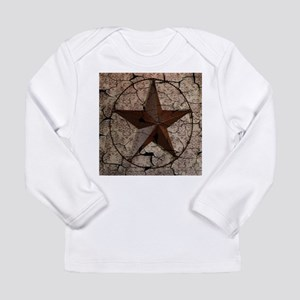 rustic texas lone star Long Sleeve T-Shirt