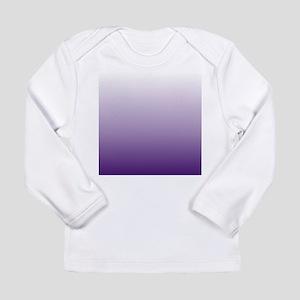modern purple ombre Long Sleeve T-Shirt