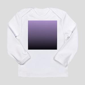 black purple ombre Long Sleeve T-Shirt